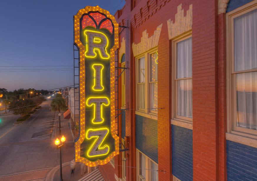 Historic Ritz Theatre Brunswick Ga 31520