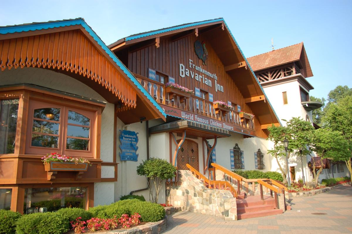 Bavarian Inn Restaurant Frankenmuth Mi 48734