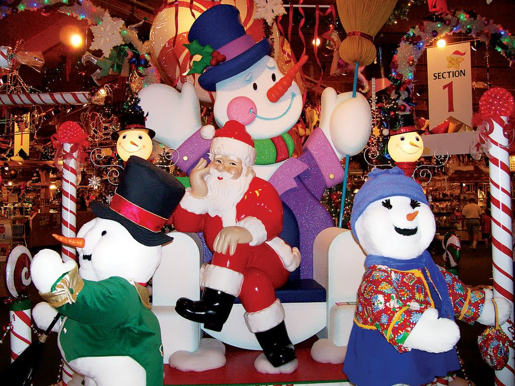 Frankenmuth Christmas.Bronner S Christmas Wonderland Frankenmuth Mi 48734