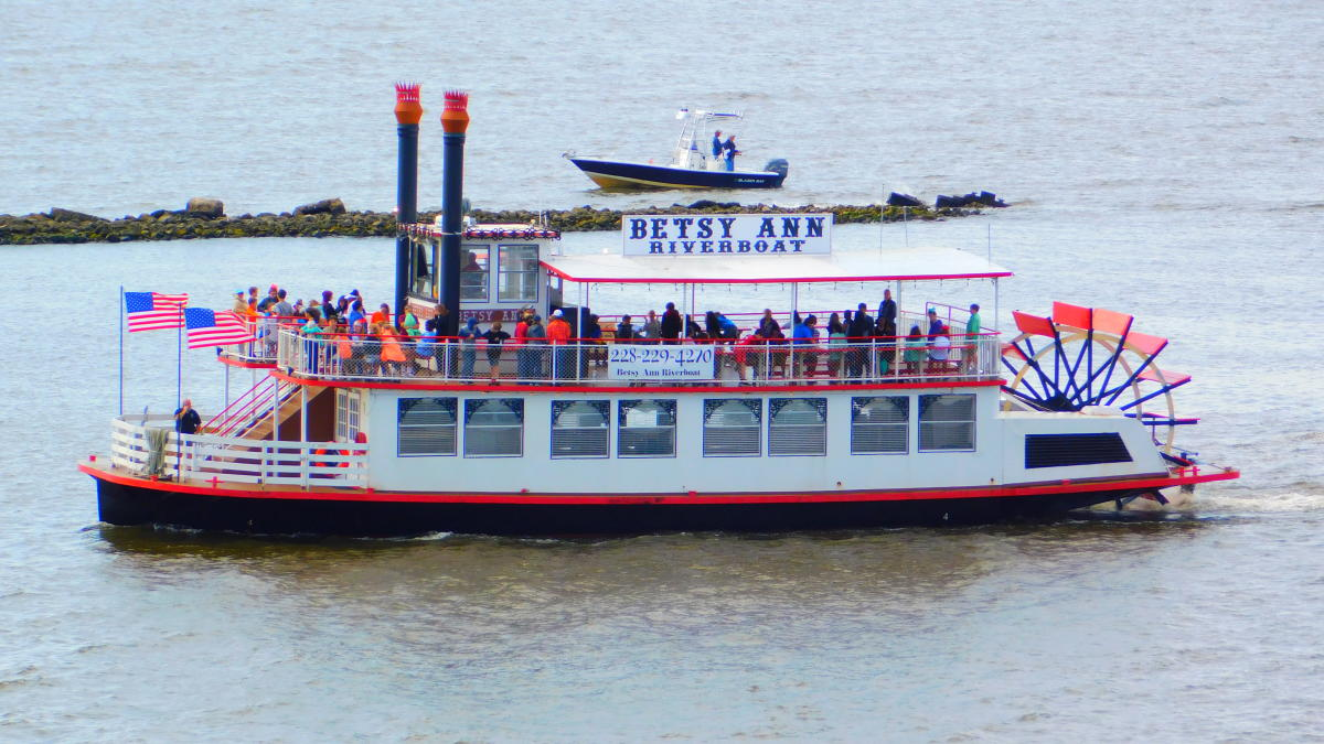 Betsy Ann Riverboat Biloxi Mississippi Biloxi Ms 39530