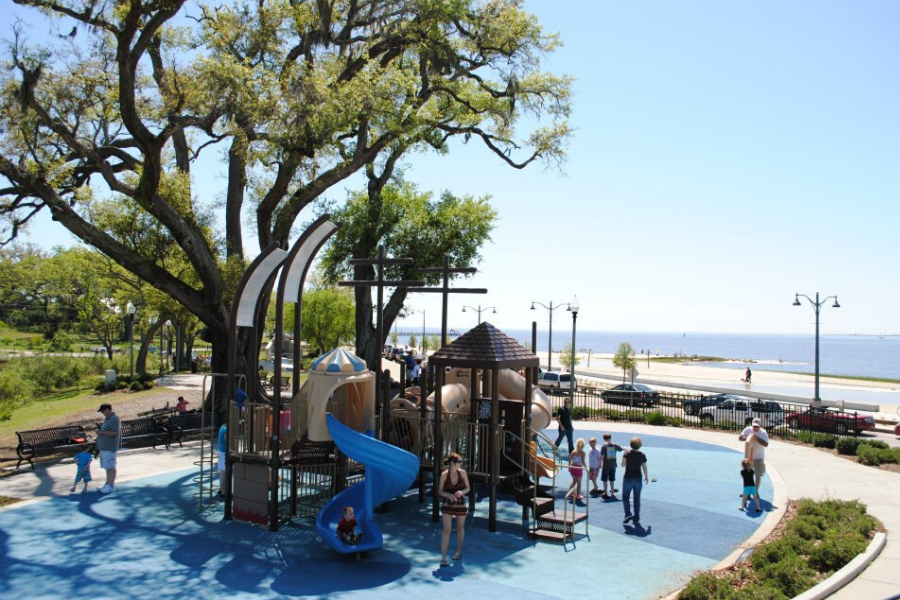 Fort Maurepas Park Splash Pad Ocean Springs Ms 39564