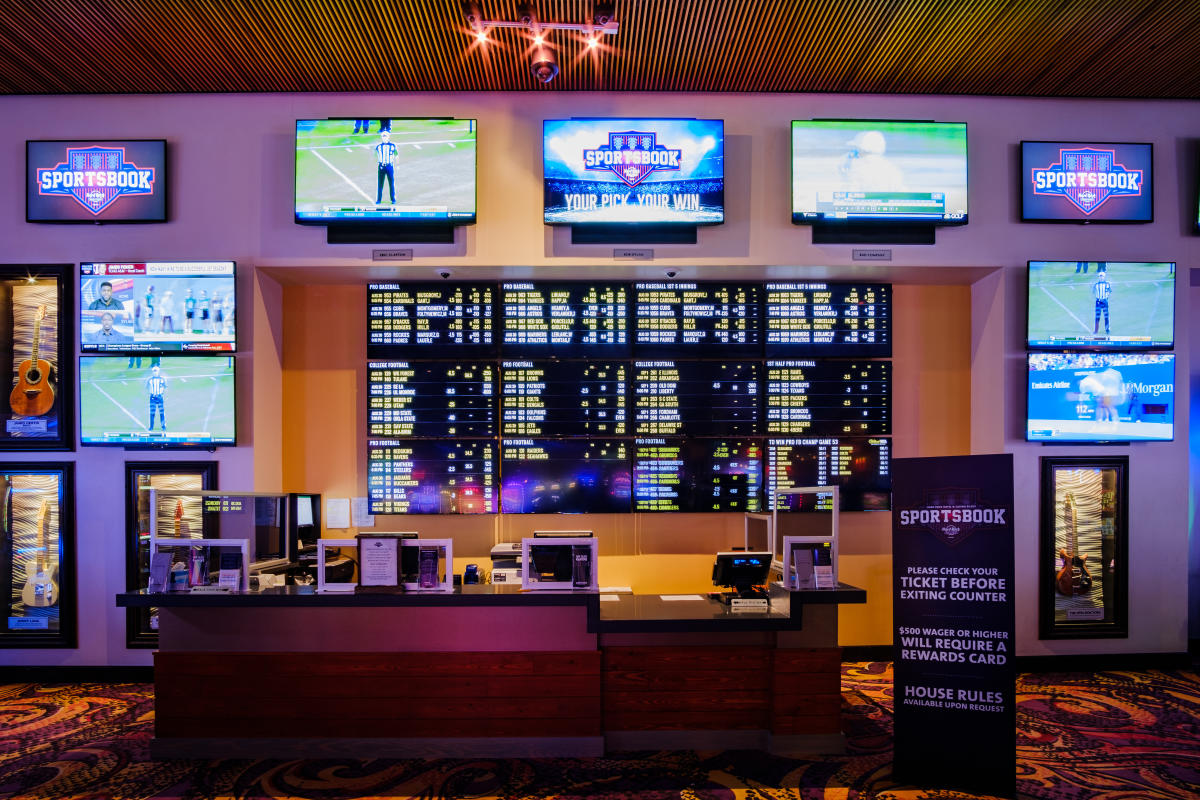Sportsbook Hard Rock Hotel Casino Biloxi Biloxi Ms 39530