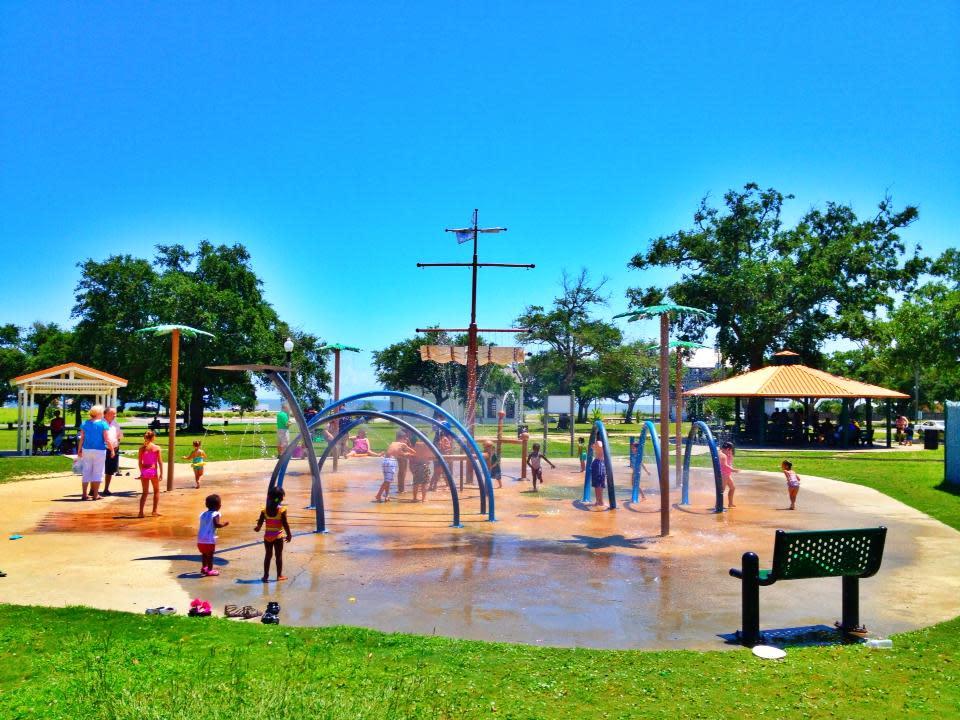 West Side Splash Park Gulfport Ms 39501