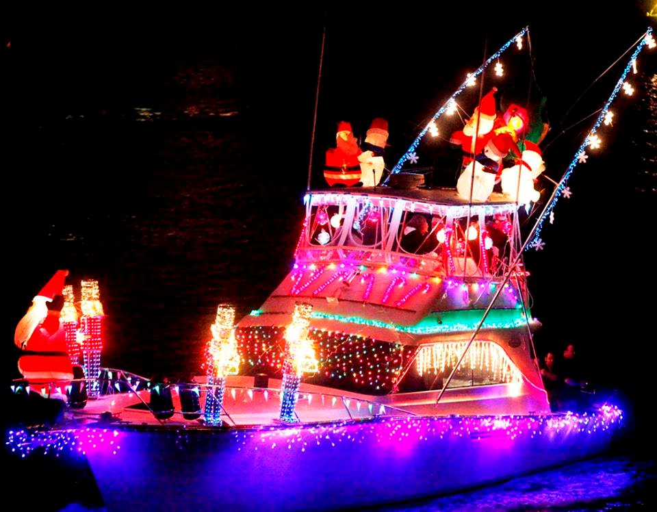 Christmas Boat.57th Annual Christmas Boat Lane Parade Holiday Events In