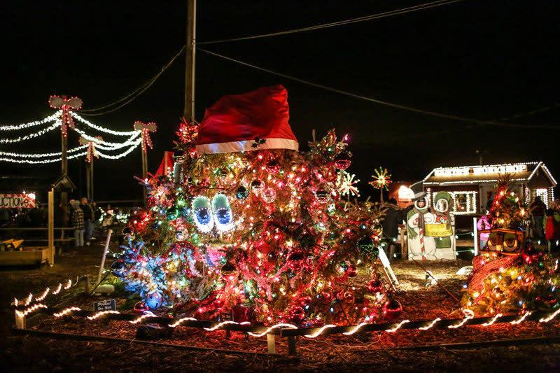 Overlys Country Christmas.Overly S Christmas Lights Christmas Lights