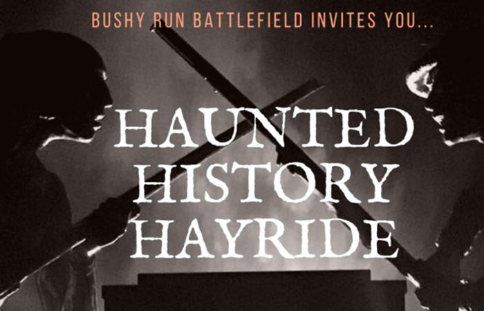 Haunted History Hayride
