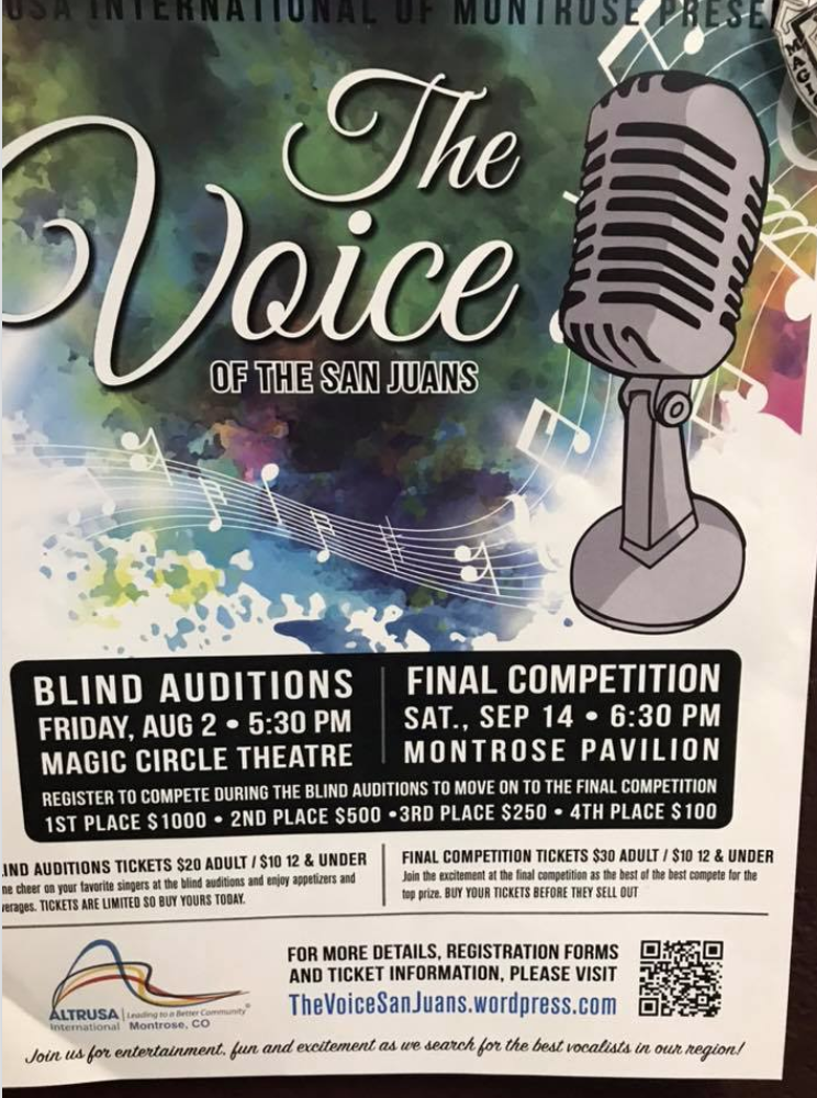 The Voice of the San Juans - Final Competition