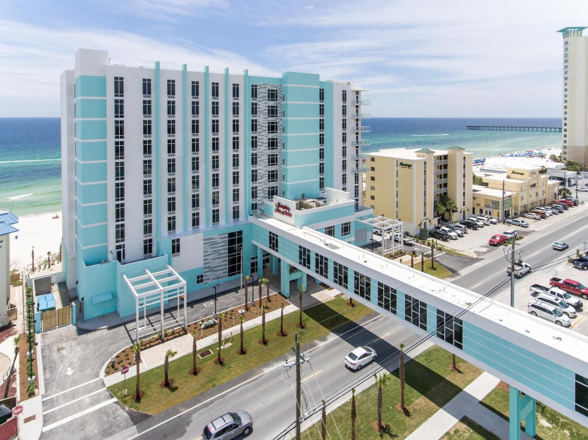 Hampton Inn Amp Suites Panama City Beach Beachfront