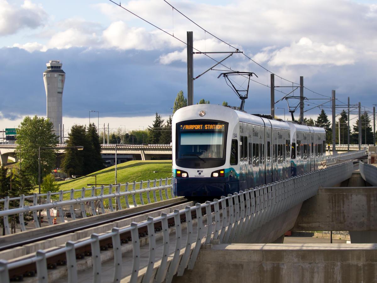 Link Light Rail - SeaTac/Airport Station