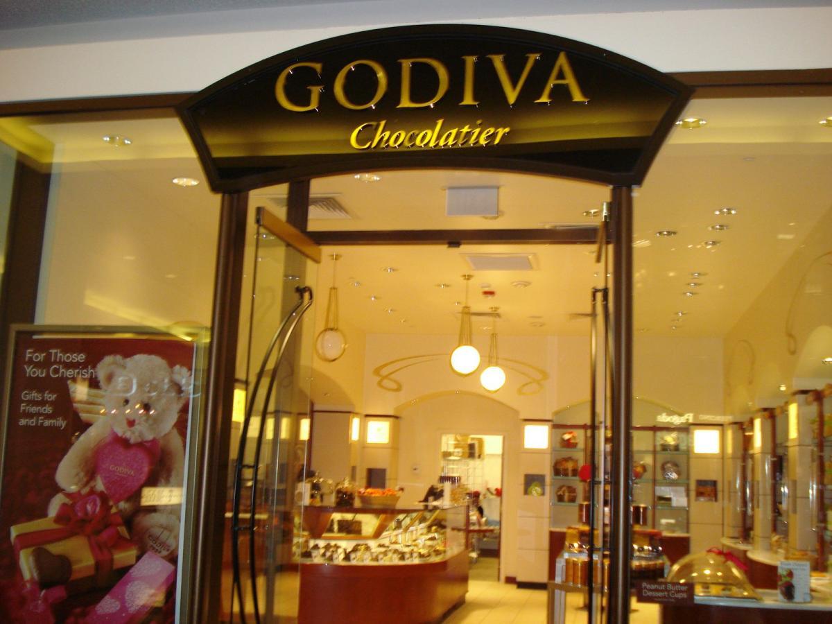 Godiva Chocolatier - Graphis