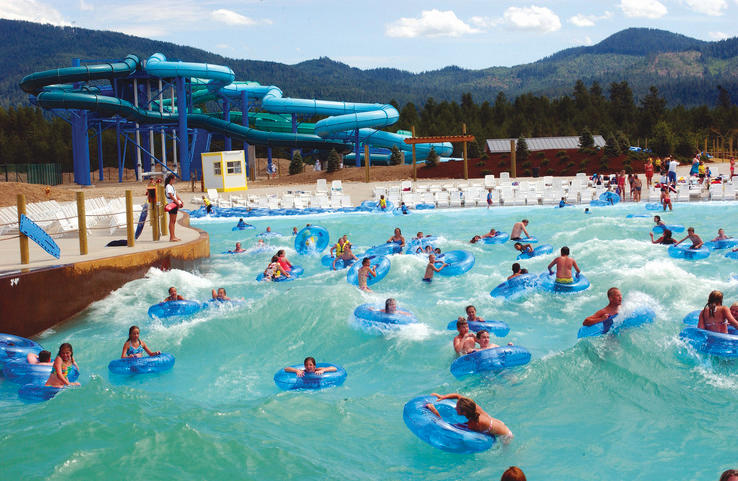 Silverwood Theme Park Boulder Beach Water