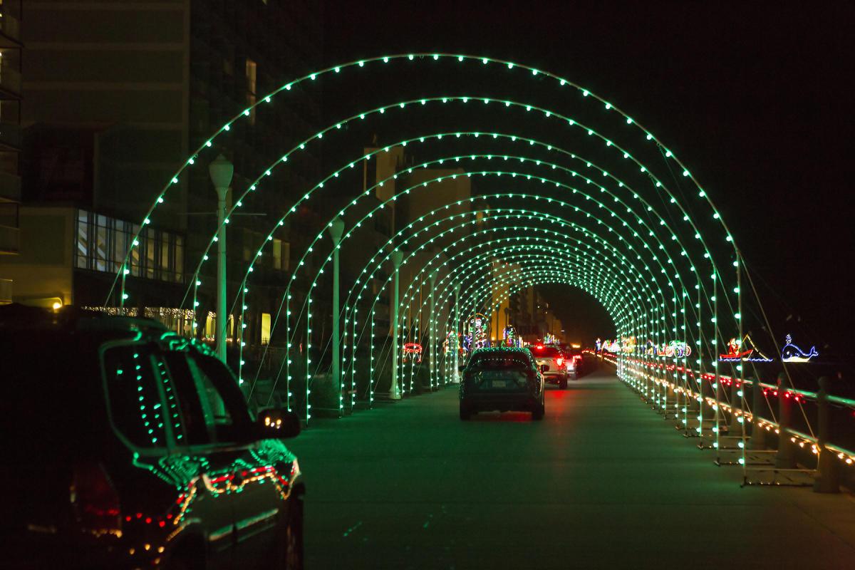 Bayport Credit Union Holiday Lights Merry Mile