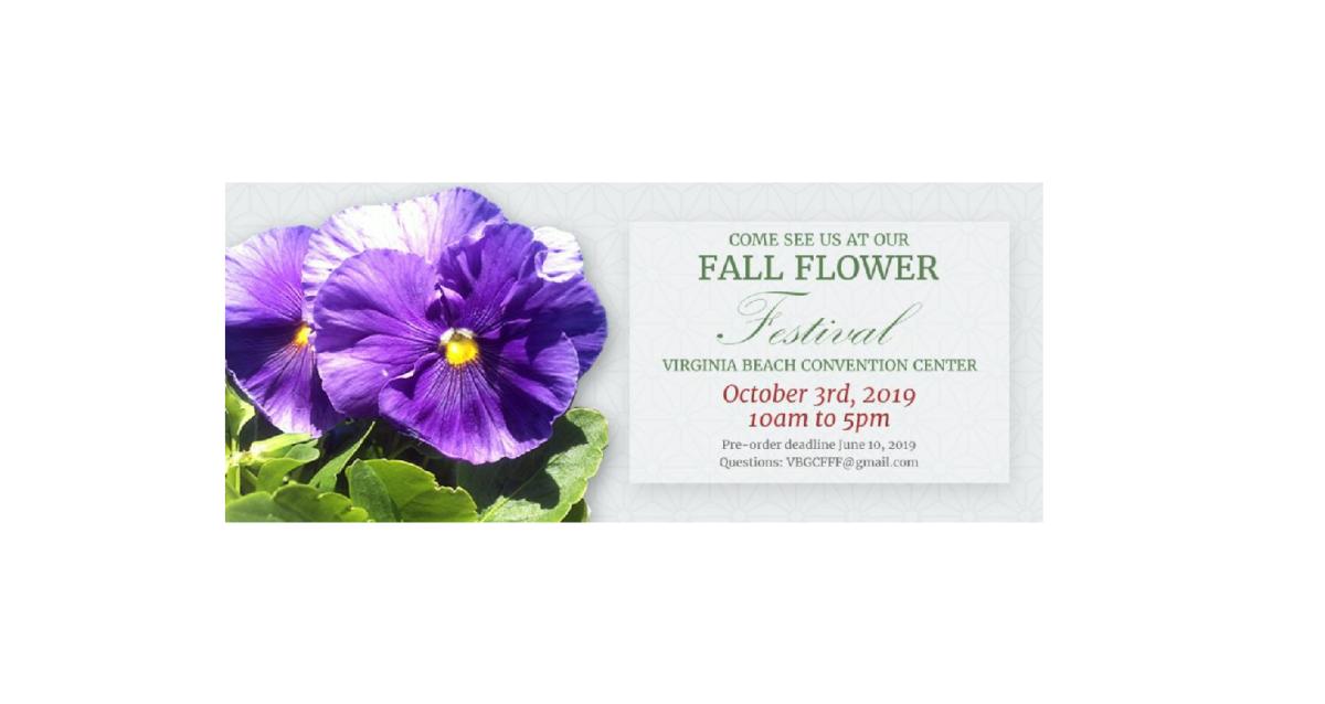2019 Fall Flower Festival