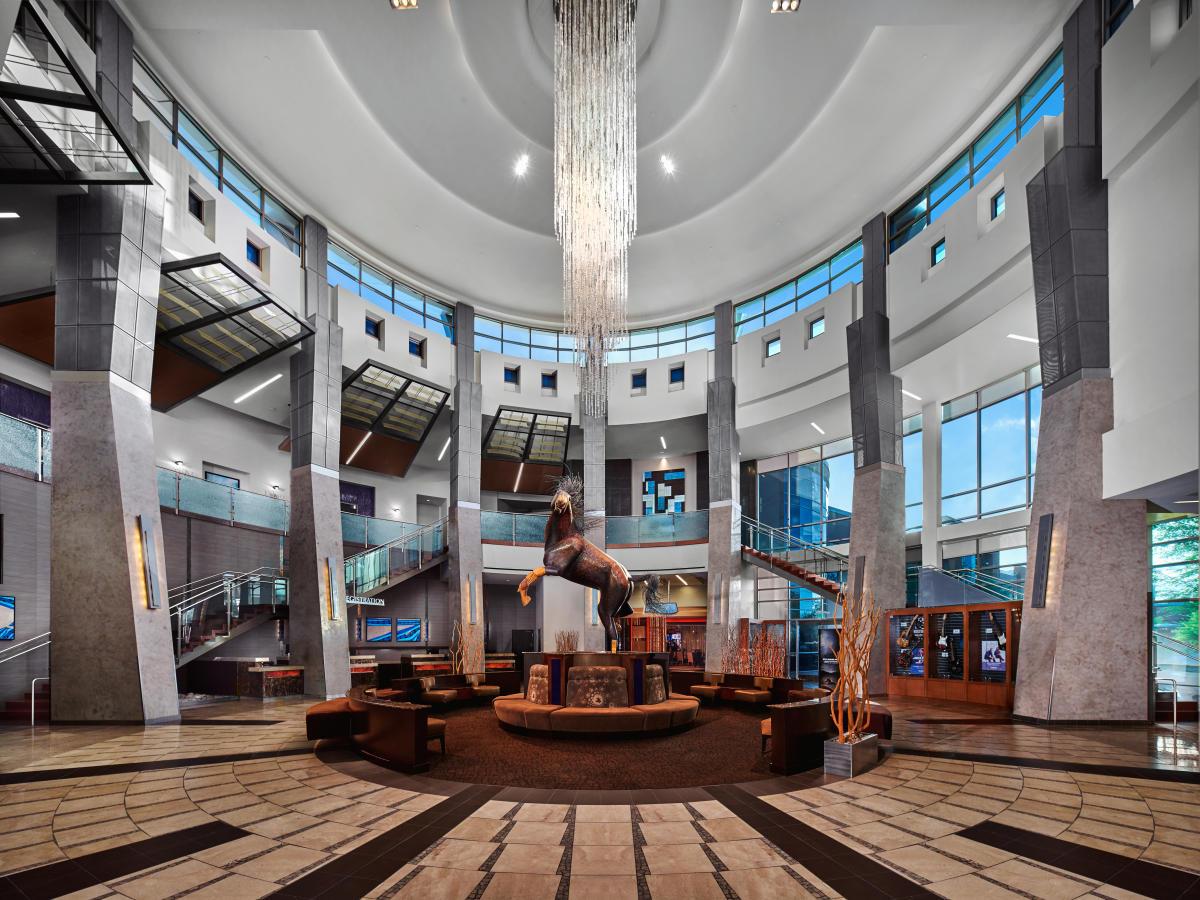 Grand Wild Casino Lobby