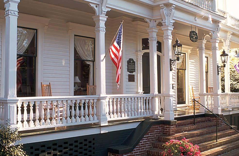 Verandas front porch