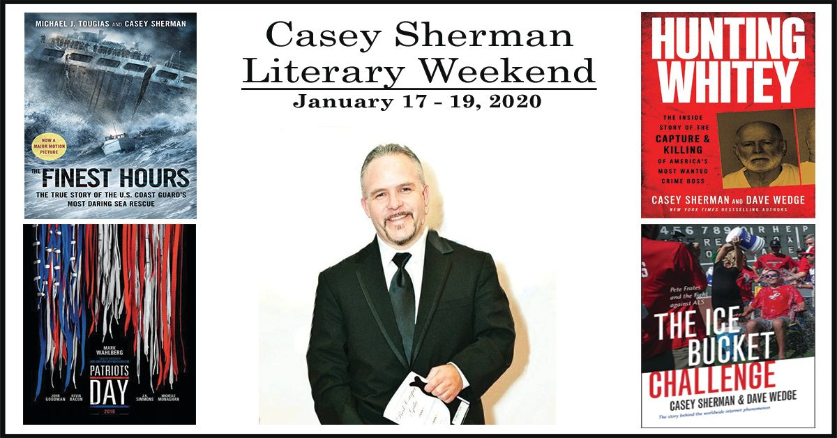 January 19th 2020 Events New York.Casey Sherman Literary Weekend January 17 8211 19