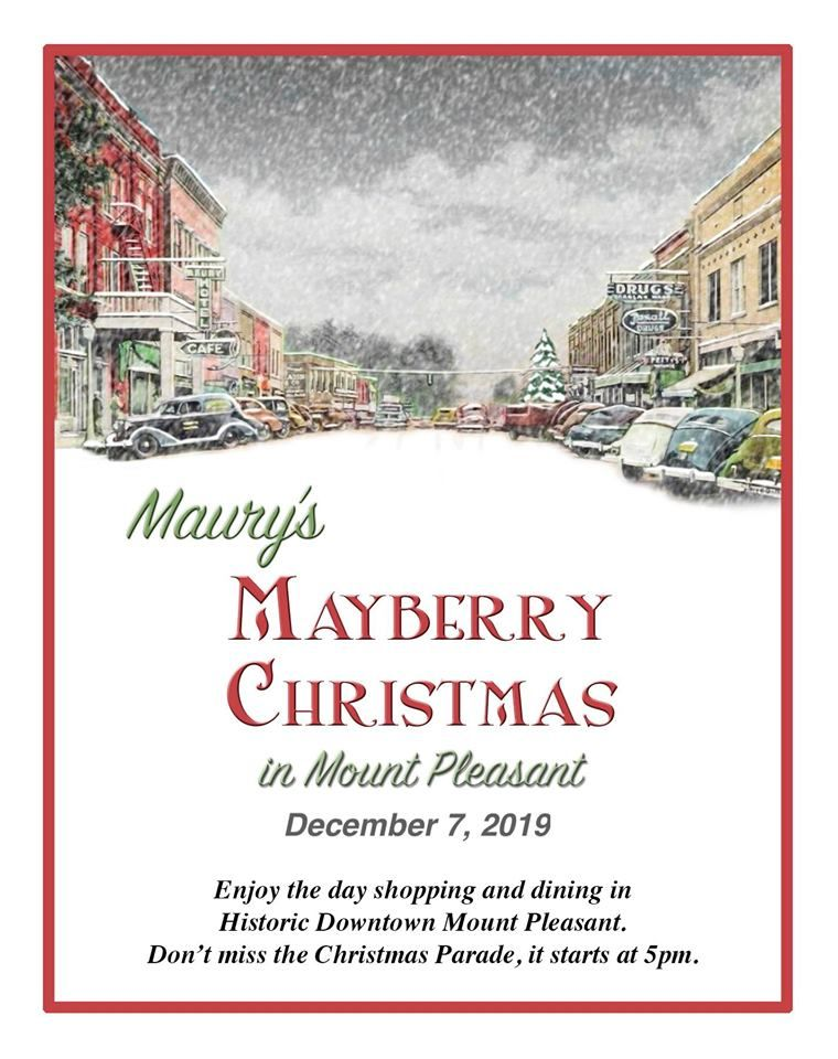 Mount Pleasant Christmas Parade 2019 Maury's Mayberry Christmas