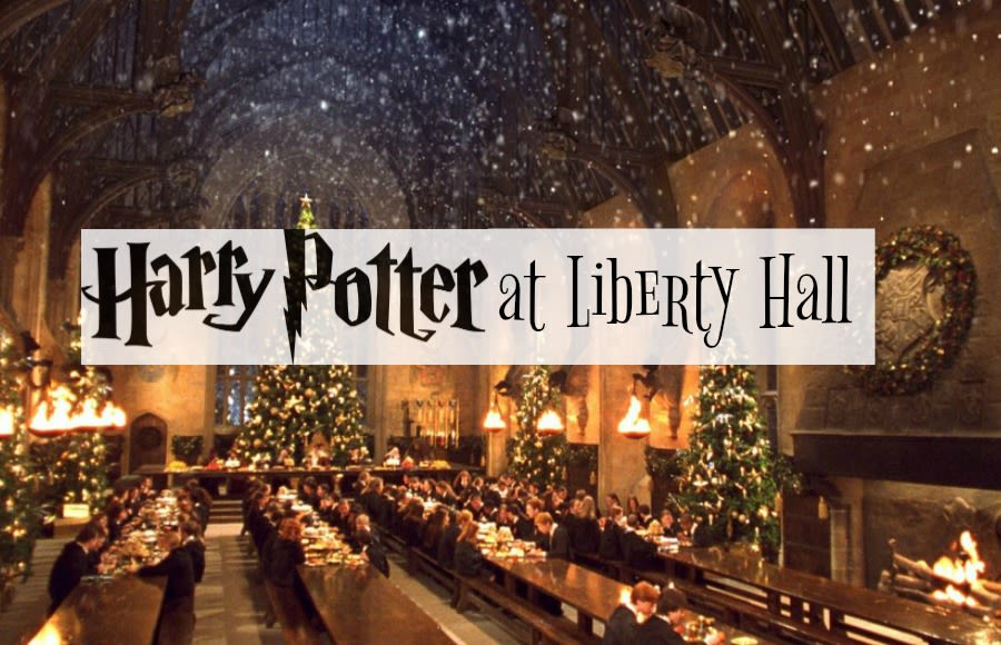 Harry Potter Christmas.Christmas Tours Begin Harry Potter At Liberty Hall Union