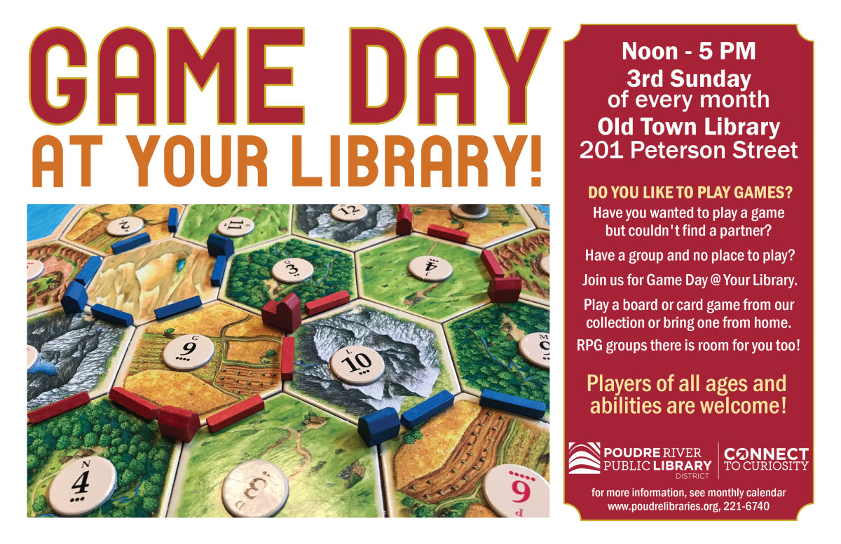 Game Day @ Old Town Library