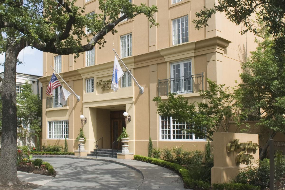Hampton Inn New Orleans St Charles Ave Garden District Hotel