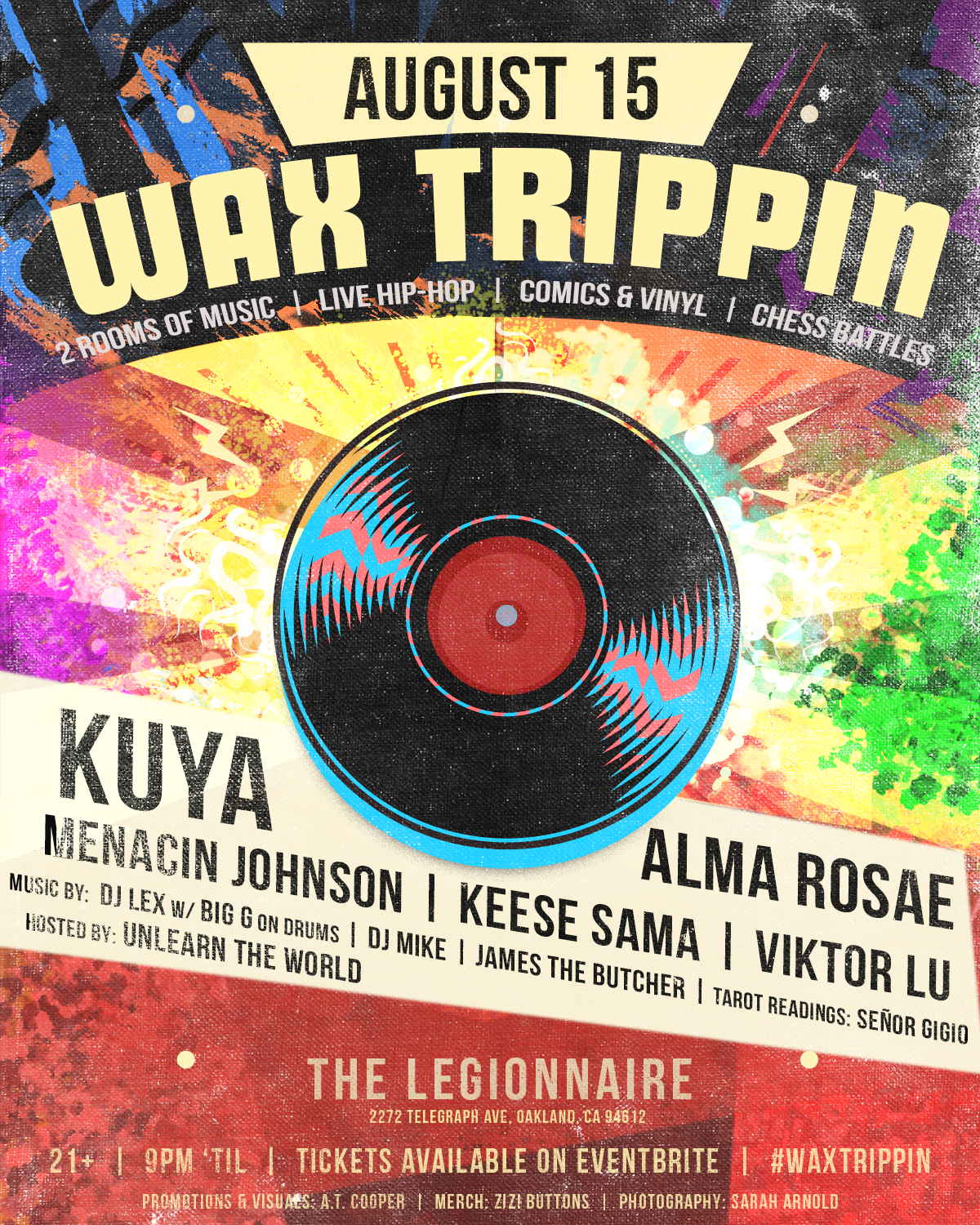 Wax Trippin: Bay Area's Premier Independent Hip-Hop Party