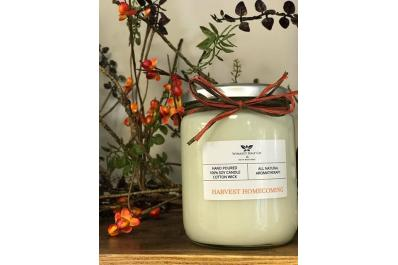 Harvest Homecoming Soy Candle
