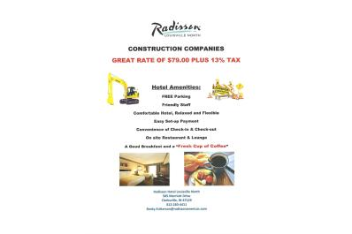 Construction Company Special Rate