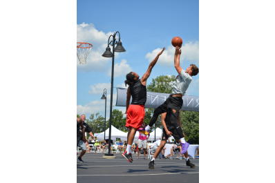 Basketball Courts - Silver Street Park