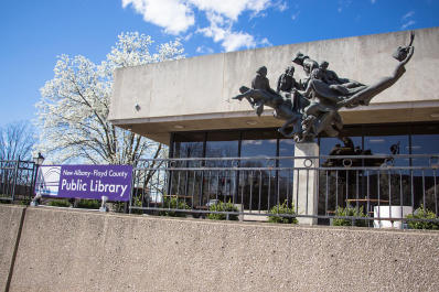 NA-FC Public Library Exterior