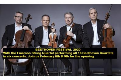 Emerson String Quartet FB listing