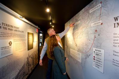 Carnegie Center Underground Railroad Exhibit