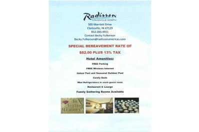 Special Bereavement Rate