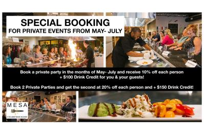 Special Bookings