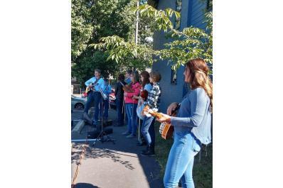 Outdoor Student Concert