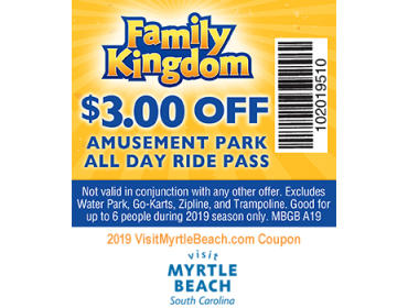 photograph about Eat N Park Printable Coupons identified as Myrtle Beach front, SC Amusements and Points of interest Discount coupons in direction of Print