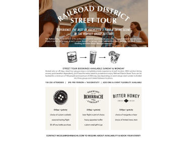Railroad District Street Tour