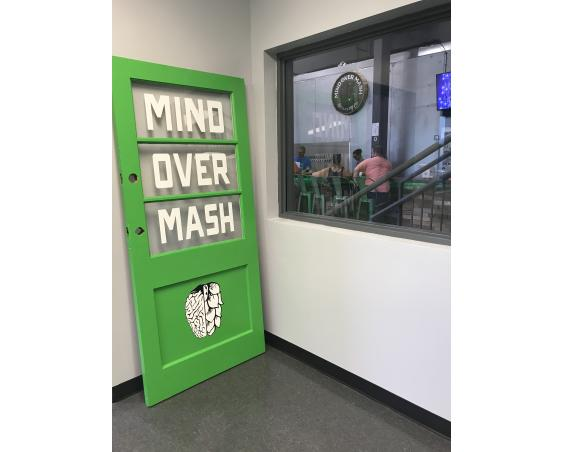 Mind Over Mash -Door