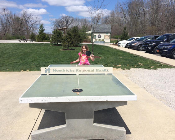 Avon Town Hall Park -  Table Tennis