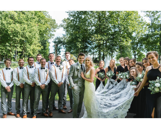 Lizton Lodge Wedding Venie | Lizton, Indiana