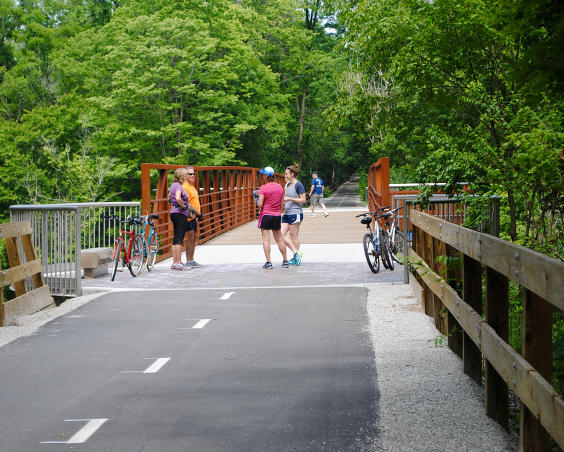 B&O Trail - Cycling