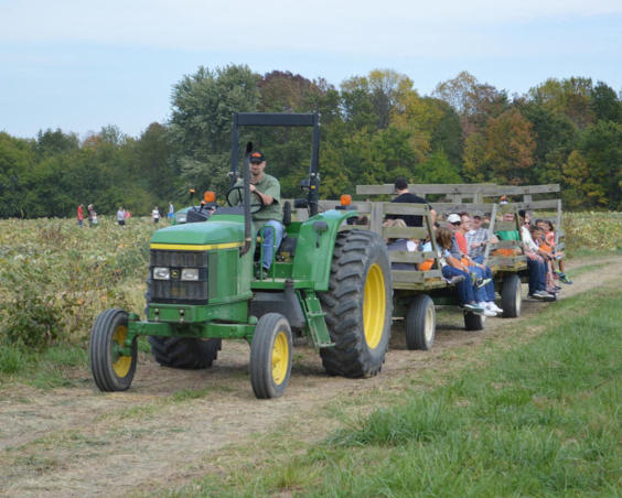 Beasley's Orchard - Hay Ride