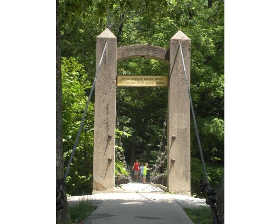 Ellis Park Bridge Danville