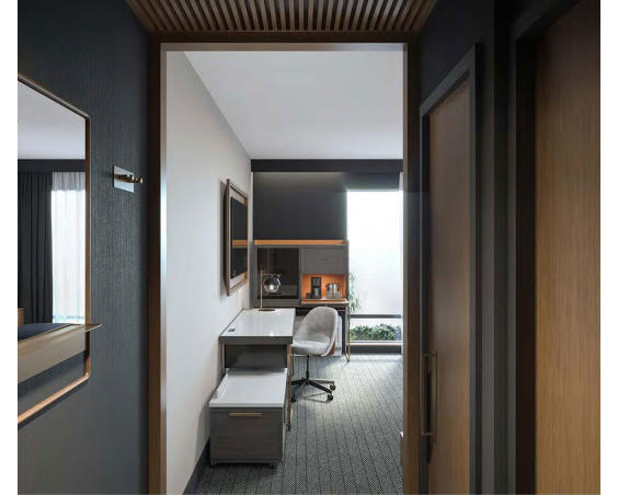 Courtyard by Marriott Plainfield | Hotel Room Desk