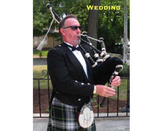 Essex Art - Wedding Piper