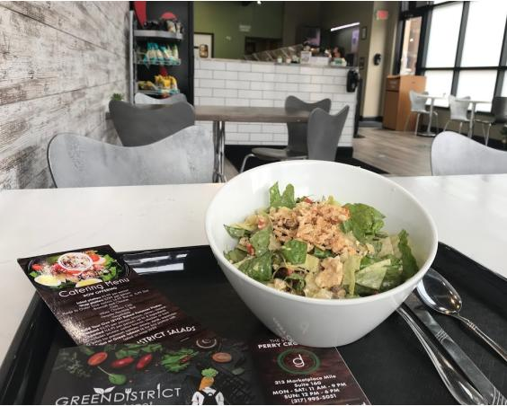 Green District Salads Plainfield