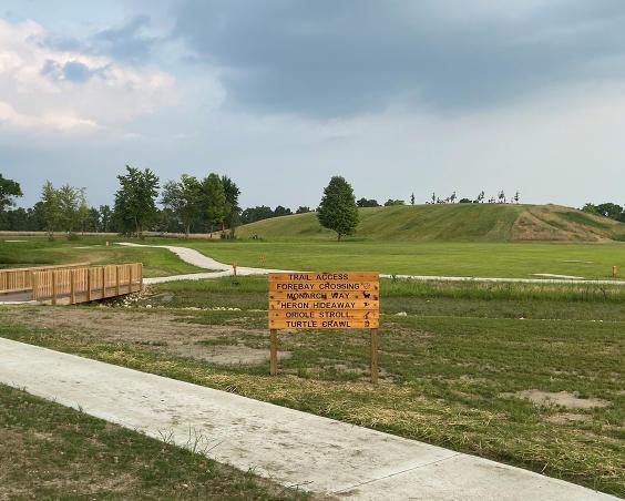 Gibbs Memorial Park | Bridge and Hill