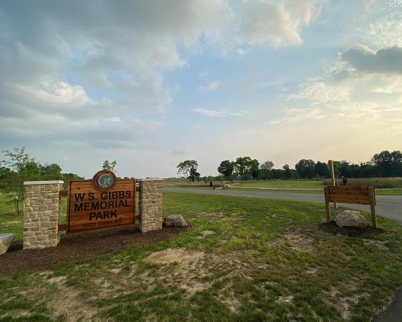 Gibbs Memorial Park | Entrance