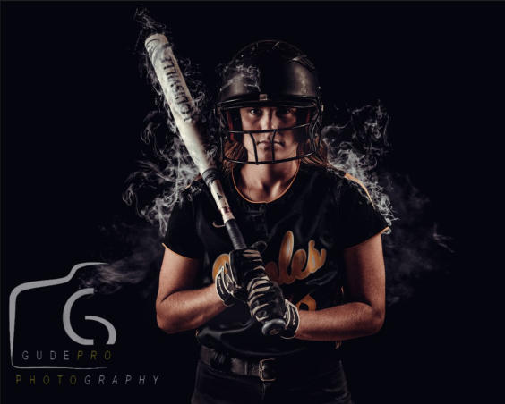 GudePro Photography & Video - Senior Photo Softball Player