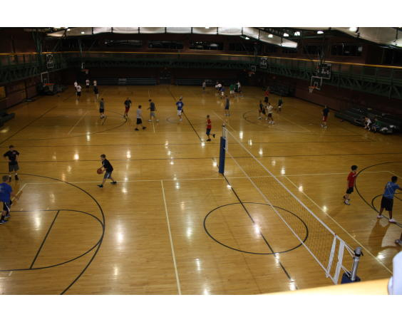 Richard A. Carlucci Recreation Center Plainfield Basketball Courts