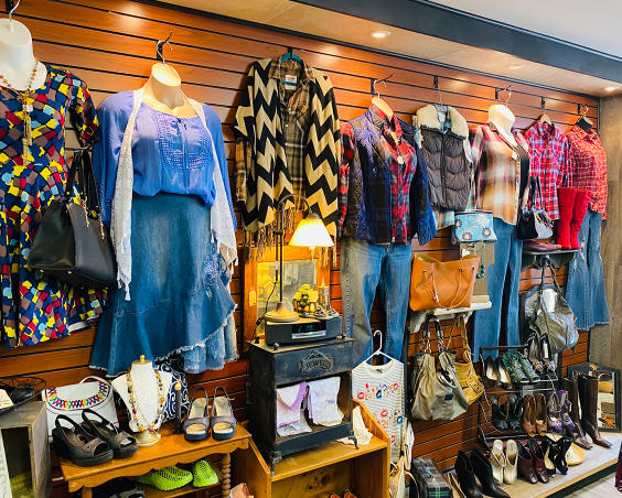 Outta the Shed Clothing Boutique